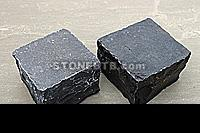 Limestone Black Cobble Setts