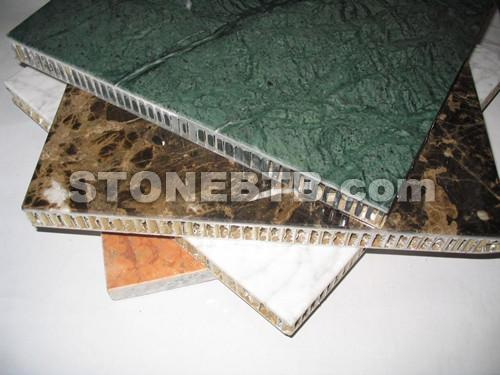 Marble Aluminum Honeycomb Panel Laminated Tiles