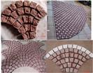 Red Porphyry Pavement Stones Paving Stones