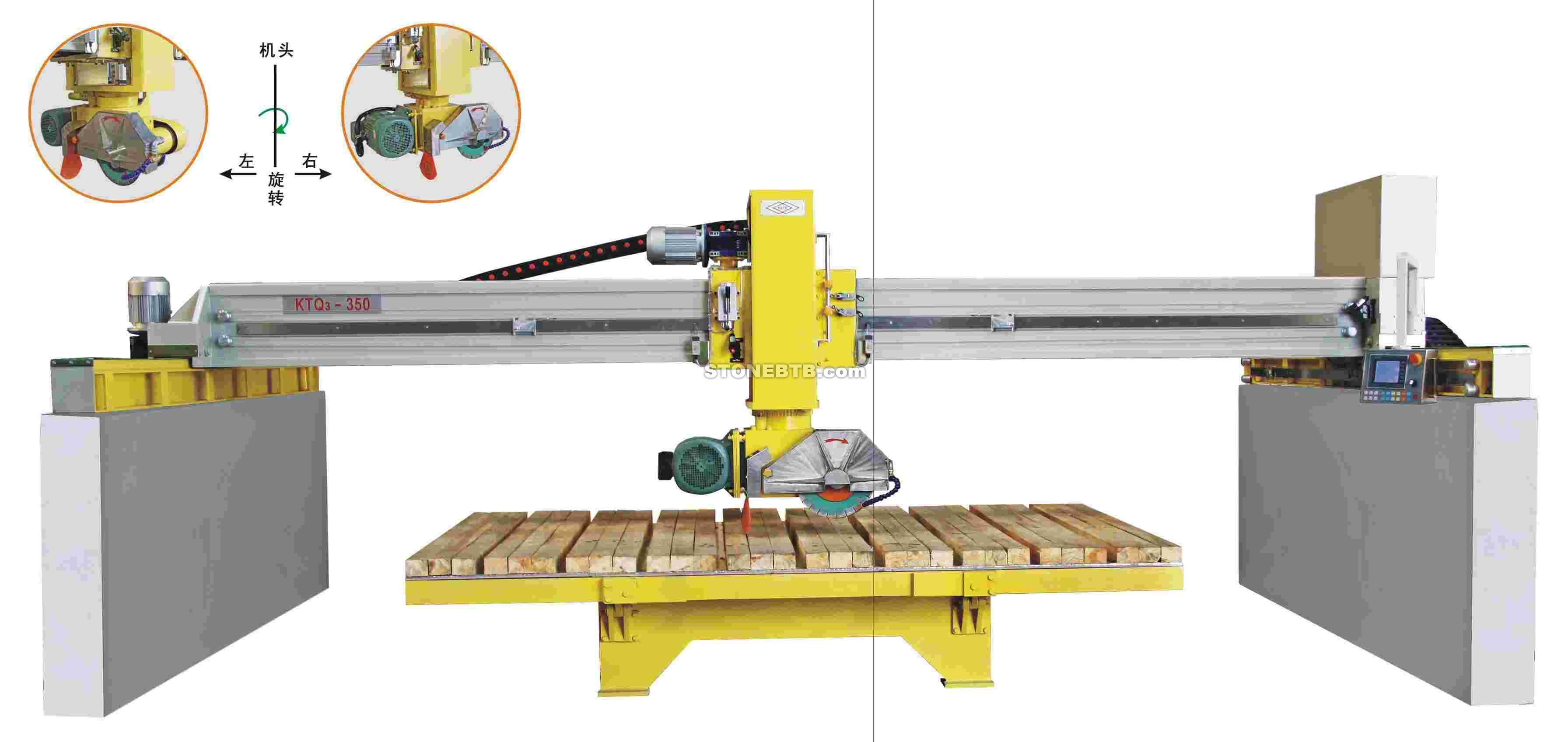 KTQ3 350 BRIDGE ATUOMATIC SAWING MACHINE