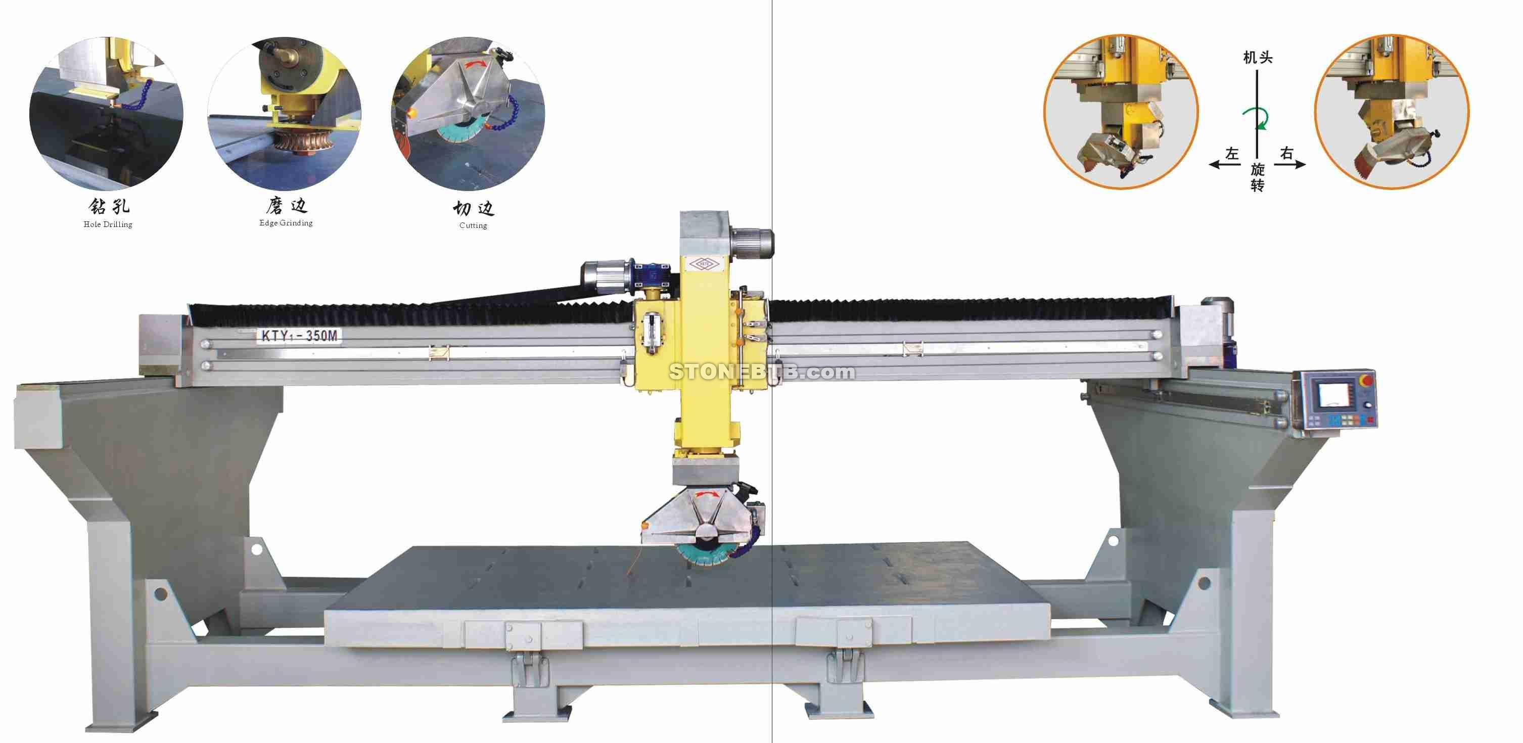 KTY1 350M WHOLE BRADGE AUTOMATIC GRINDING AND SAWING MACHINE