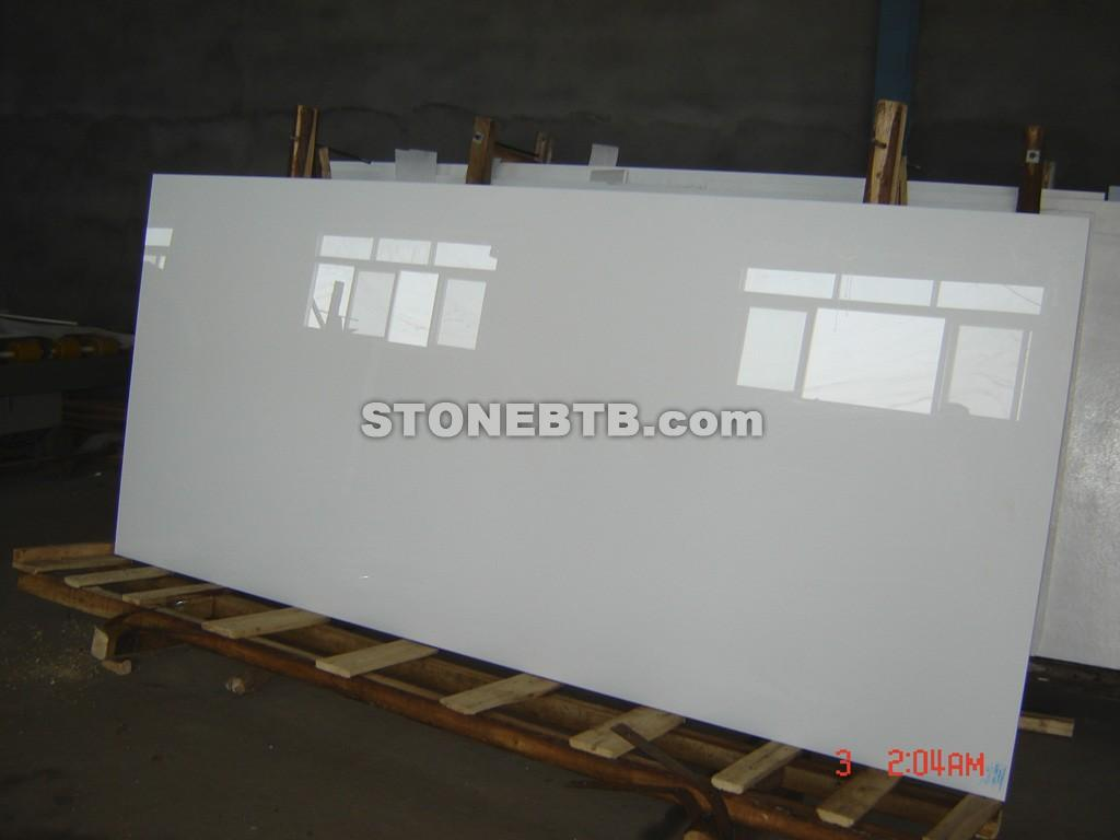Nano Crystallized Glass Artificial Pure White Marble M