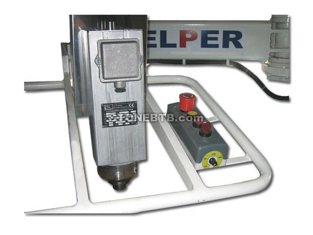 Radial Arm Polisher Helper