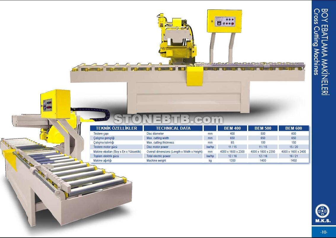 Mks Marble Cutting And Polishing And Processing Machine