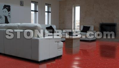 Solo Red Flooring