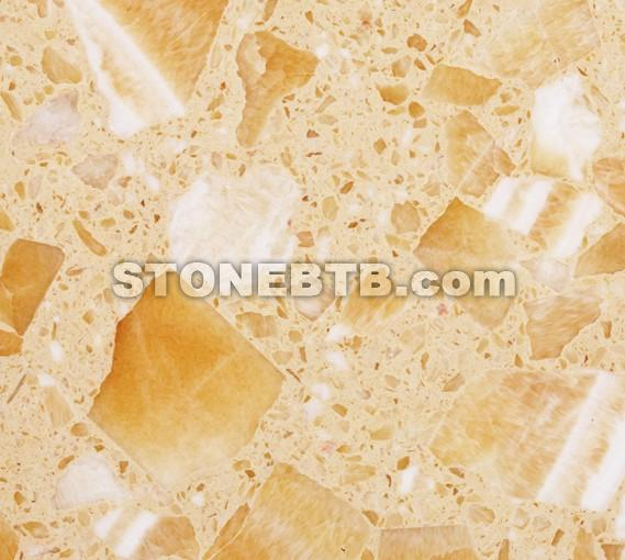Artificial Stone--Yellow Onxy