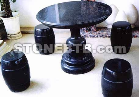 Black Galaxy Table