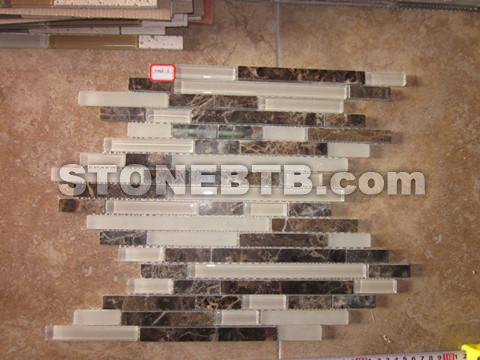 Glass and Marble Mosaic 01