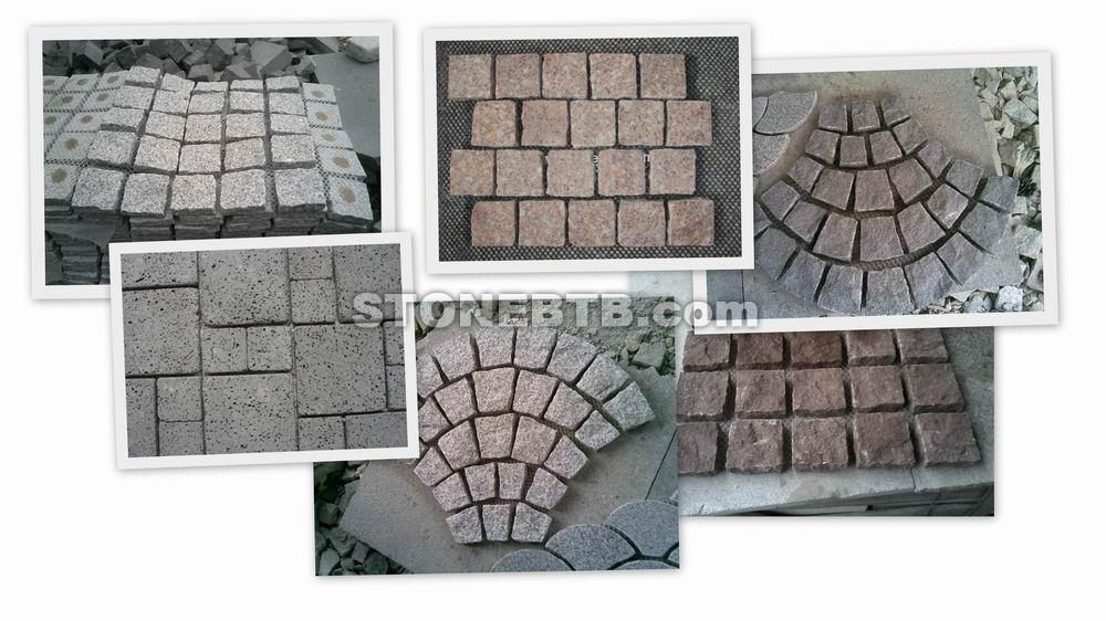 Paving Stone with Mesh